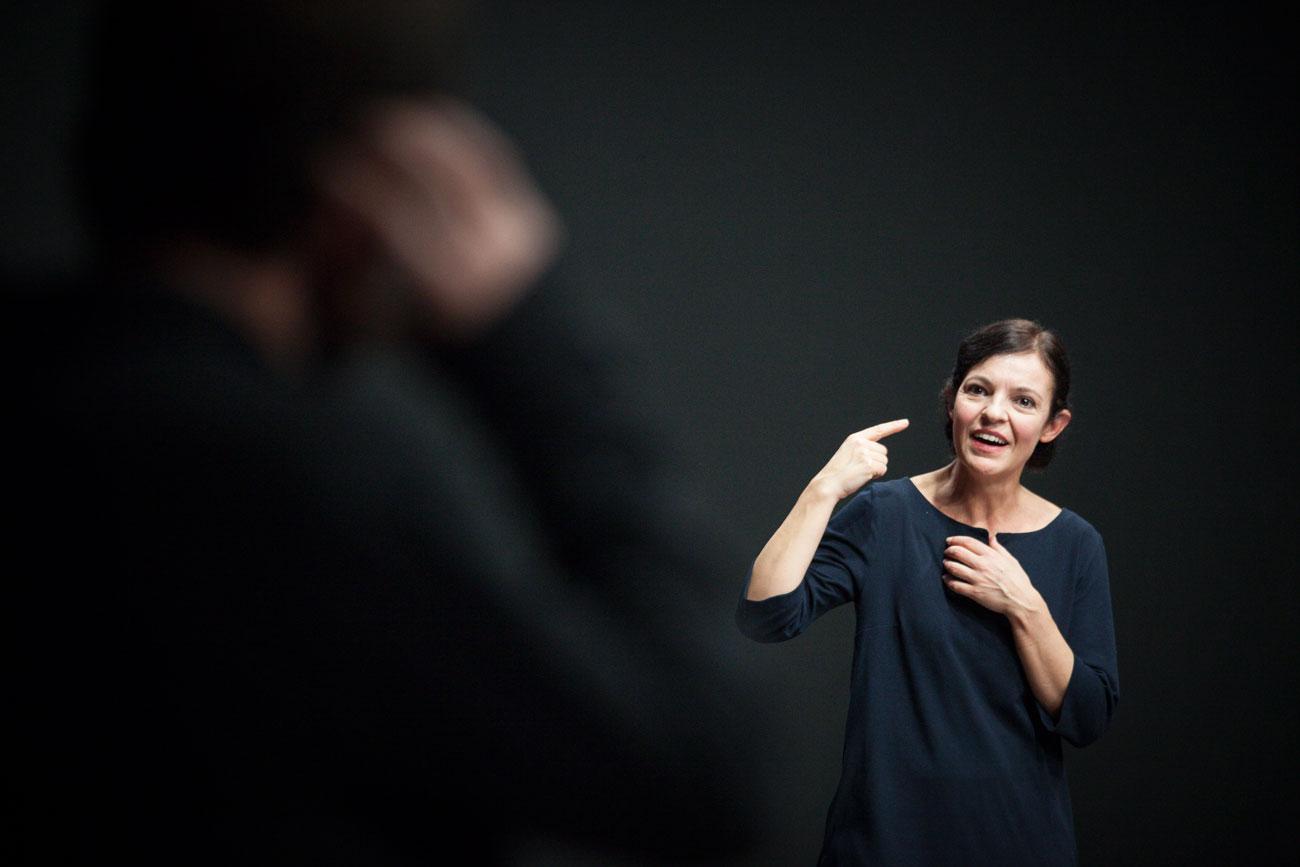 Conversando di teatro - Il cielo non è un fondale