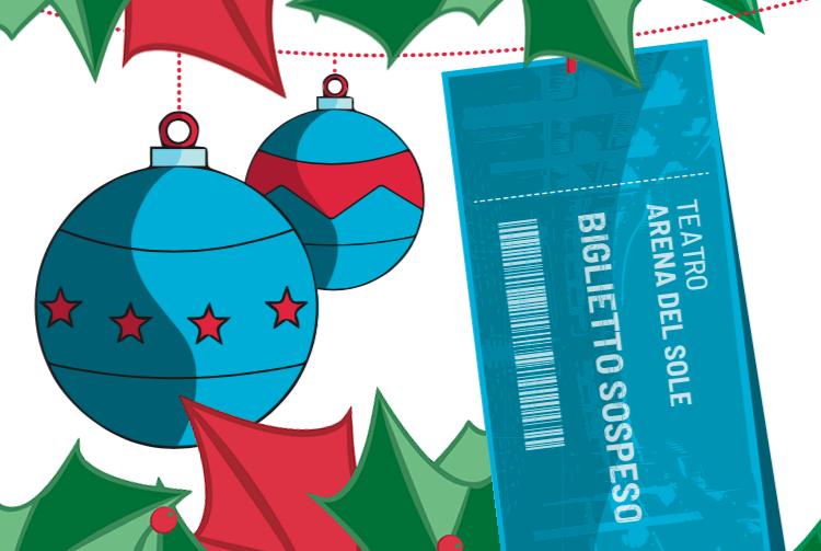 Biglietto sospeso... A Natale fai un regalo speciale